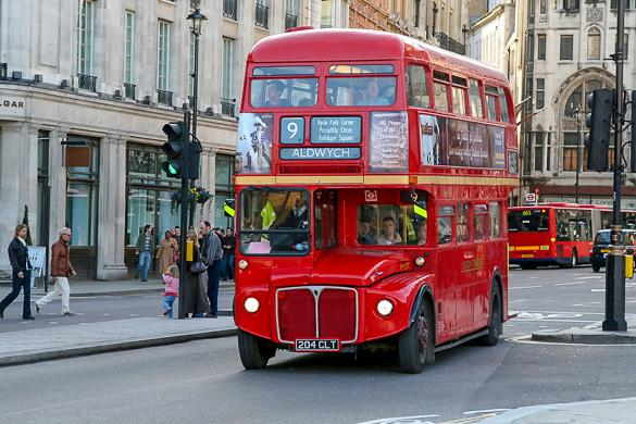 london roter doppeldeckerbus